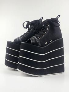 Lolita sapatos de lona para informal 7.1