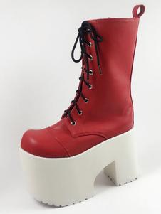 Lolita botas de PU para informal 4.7