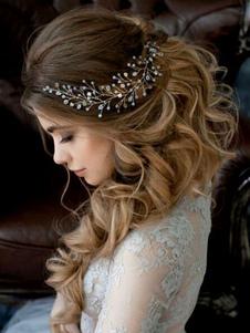 Tocados para bodas 2020 Accesorio de boda para adultos para boda con adorno para la cabeza
