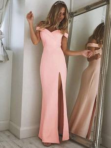 Платье макси с длинным рукавом для женщин