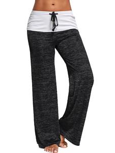 Pantaloni della tuta da donna Pantaloni da ginnastica in cotone Pantaloni da ginnastica in cotone