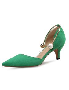 Направленные носки на каблуках Котенок для каблука Натуральный жемчуг