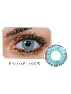 Цветной контактный объектив Balafilcon Brilliant Blue Ежегодный цветной контакт