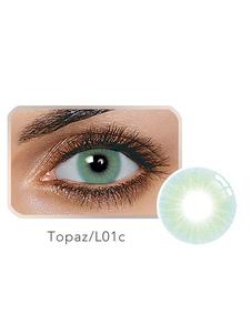 عدسة اللون سنويا توباز الأخضر 14.20 بالافيلكون لون العدسات اللاصقة