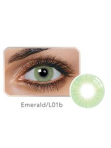 لون العدسات اللاصقة الزمرد الأخضر حجم صغير العدسات اللاصقة السنوية