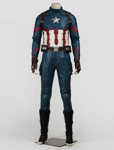 Captain America 3 Steve Rogers Marvel Movie Cosplay Set In 7 Piece