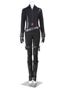 Marvel Movie Captain American 2 Conjunto de cosplay de mulheres negras