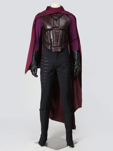 Marvel Comics X-Men Days of Future Past Magneto Halloween Cosplay Costume