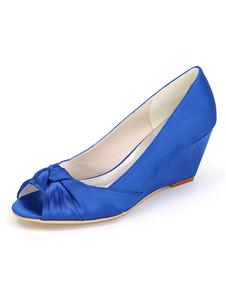 calçado para mulher para casamento com retorcido elegante 2.6
