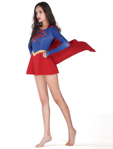 Carnaval Dc Comics Supergirl Cosplay De Halloween