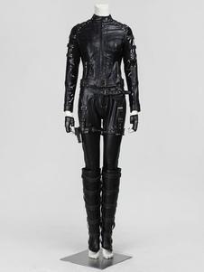 Seta Dinah Laurel Lance Halloween traje Cosplay Halloween