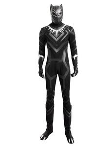 Carnaval Marvel Comics pantera negra Cosplay traje de Vengadores Halloween Cosplay traje Marvel Halloween