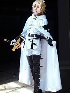 Costume Carnevale Seraph del fine vampiri Mikaela Hyakuya uniforme Anime Cosplay Costume