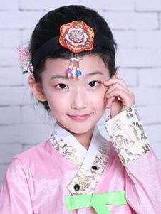 الفتيات الكورية أغطية الرأس هالوين هالوين زي هالوين اكسسوارات للشعر