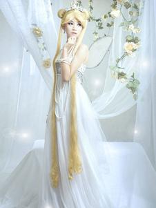 Fantasia de Cosplay de Sailor Moon princesa serenidade Halloween Halloween