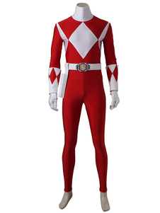 Power Rangers Tiranossauro GekiHalloween traje Cosplay Halloween