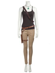 Tomb Raider Лара Крофт Хэллоуин сексуальная косплей костюм Хэллоуин