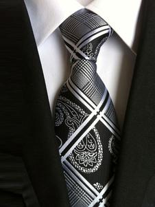 Черные галстуки для мужчин