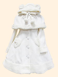 Sweet Lolita Pom Poms Overcoat Cape В 2 пьесы для зимы