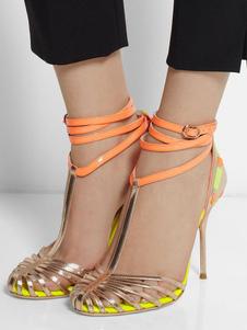 Sandali con tacco alto Scarpe da donna God Sandali con cinturino alla caviglia
