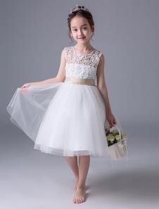 Платья для девочек из цветной ткани Платье для девочек с длинным рукавом
