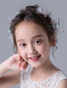 Tiara no cabelo de metal meninas 2020 acessórios para a cabeça acessórios cor de rosa Não personalizado