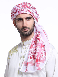 Involucro Hijab di poliestere musulmano di fazzoletto musulmano degli uomini arabi hijab