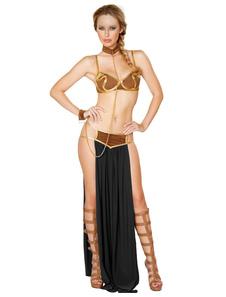 Арабский костюм Хэллоуин Женщины Сексуальный верх и юбка