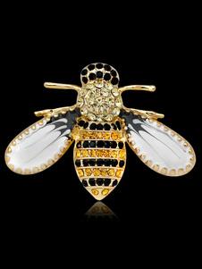 Presente de aniversário da jóia das mulheres do broche do Pin da abelha para seu broche do inseto