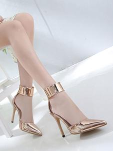 Женские ботинки с высокими пятками на голландском языке