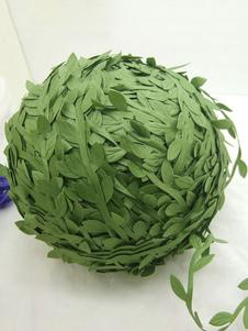 Decoração de casamento folha de seda rattan festa decoração diy presente grinalda