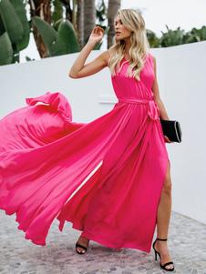 Платье вечернее платье Maxi из шифона