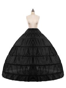 Sottoveste da sposa Crinoline Slip Black One Petticoat da sposa