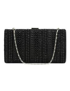 Сумка из перламутровой сумочки из черного свадебного кошелька с бисером Вечерние сумочки