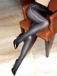 Lingerie sexy nera delle calze delle calze sexy