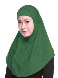 Turbante A Due Pezzi Da Donna In Hijab A Due Colori 2020