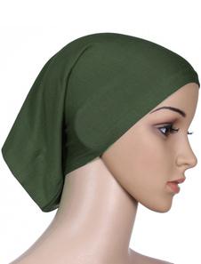 Tapas musulmanas de Hijab Caps Inners Tapas de cabeza de algodón Underscarf