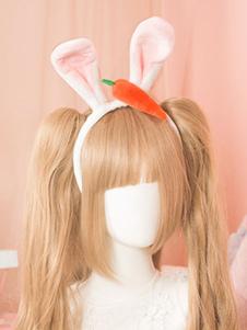 Sweet Lolita Hair Clasp Bunny Ear Lolita Accessorio per capelli