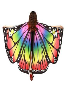عيد الرعبالعاهل الفراشة أجنحة زي الرأس الكبار هالوين اكسسوارات تأثيري