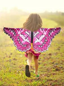 عيد الرعبأجنحة الفراشة زي الاطفال للجنسين هالوين اكسسوارات تأثيري