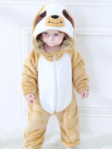 Малыши ленивец Кигуруми пижамы Onesie фланелевые комбинезоны для детей Хэллоуин