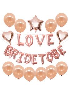 بالونات زينة الزفاف مجموعة