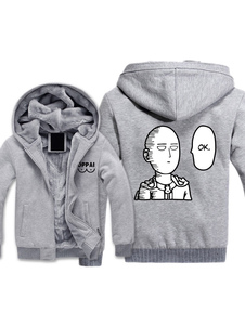 One Punch Man Saitama Anime Cosplay Hoodie Adults Cool Hoodie Хэллоуин