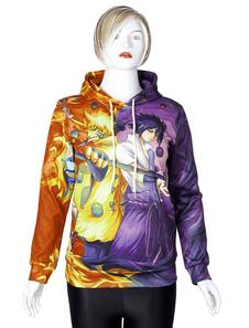 Sudadera Anime Naruto Sudadera con capucha impresa con capucha