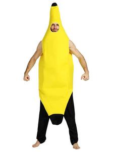 عيد الرعبالغذاء زي الموز الكبار للجنسين ازياء فواكه مضحكة هالوين