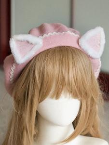 الحلو لوليتا القطة الصوف القطة الأذن لوليتا القبعة