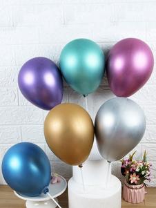 عيد الرعبكعكة القبعات العالية اللاتكس بالونات عيد ميلاد الحزب الاوسمه
