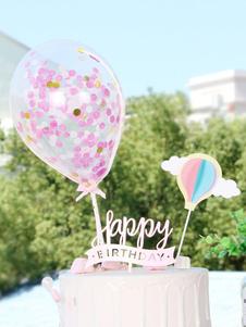 عيد الرعبكعكة توبر الهواء الساخن بالونات عيد ميلاد الحزب الاوسمه