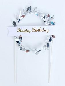 عيد الرعبكعكة اكليلا اكليلا زينة عيد ميلاد سعيد الحزب