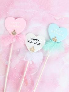 عيد الرعبكعكة القبعات العالية ولي العهد الانحناء الطفل زينة عيد ميلاد سعيد